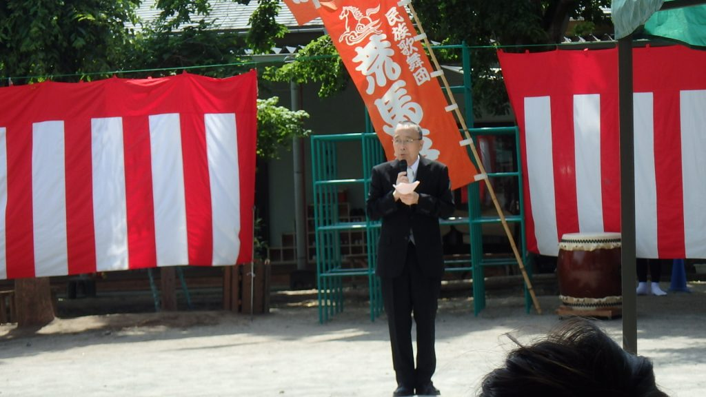 なかの幼稚園 入園式