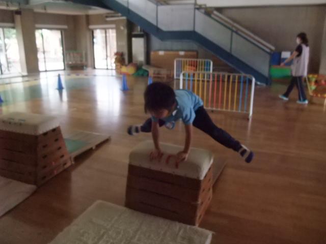 なかの幼稚園 運動会 練習